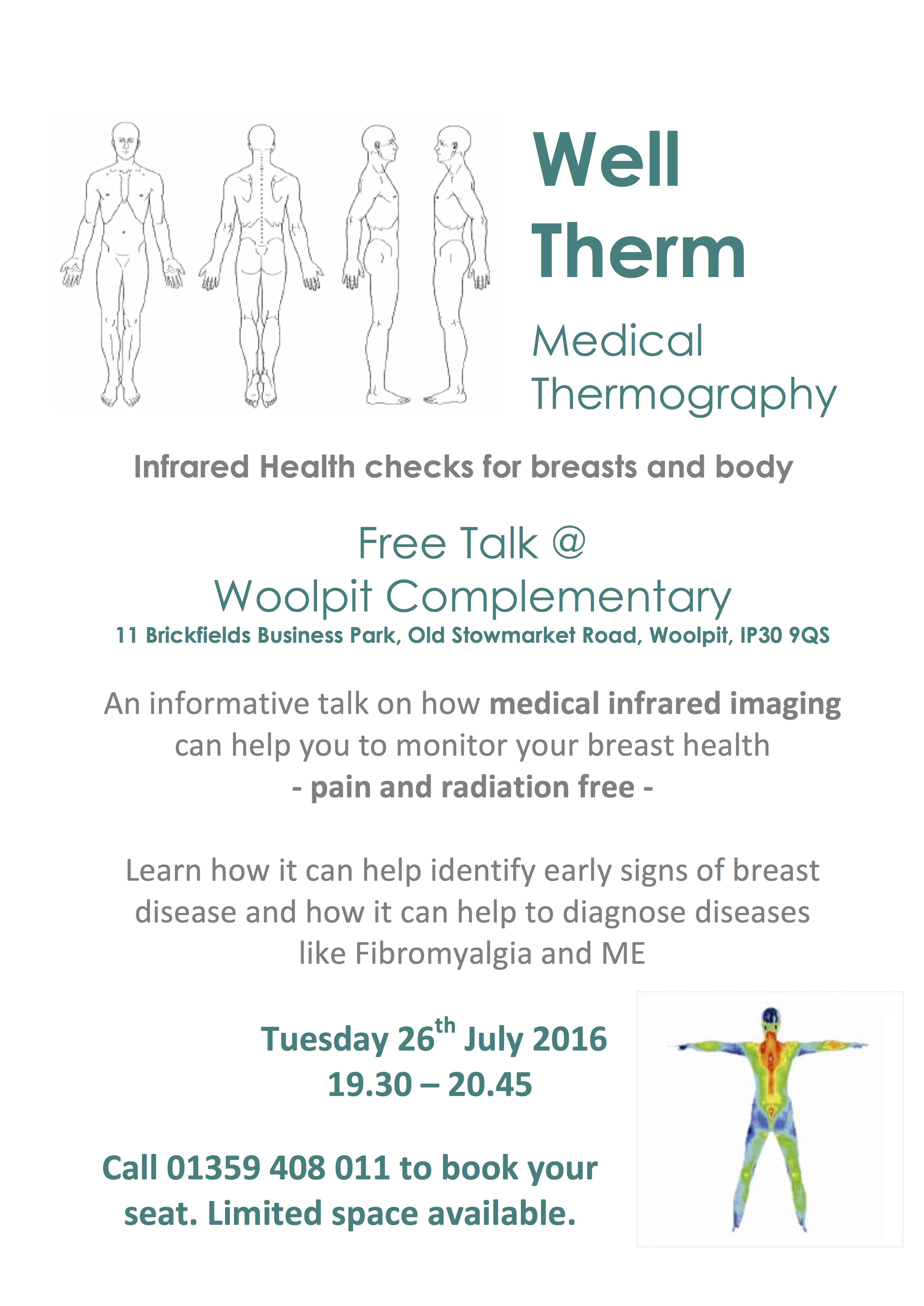 Medical Thermography - Woolpit Complementary